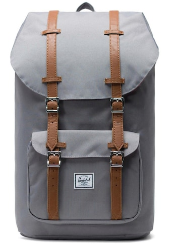 Herschel Laptoprucksack »Little America, Grey/Tan« kaufen