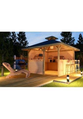 weka Pavillon »Gartenoase«, (Set), BxT: 380x380 cm, inkl. Brüstung kaufen