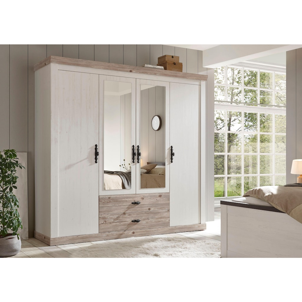 Home affaire Drehtürenschrank »Florenz«