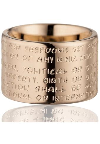 Gilardy Ring »Edelstahl PVD Rotgold« kaufen