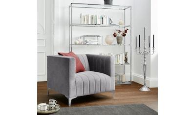 Leonique Sessel »Beverly Hills«, mit geradliniger Steppung, im extravaganten Design kaufen