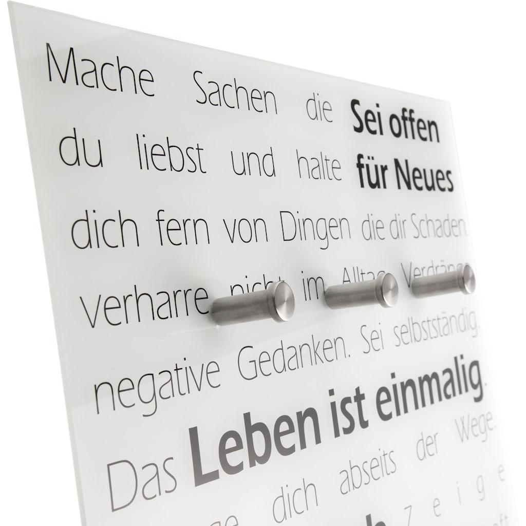 Spiegelprofi GmbH Garderobe »Leben«