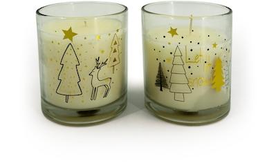 NOOR LIVING Duftkerze »Weihnachten«, Ø 9 cm, Höhe 10 cm kaufen
