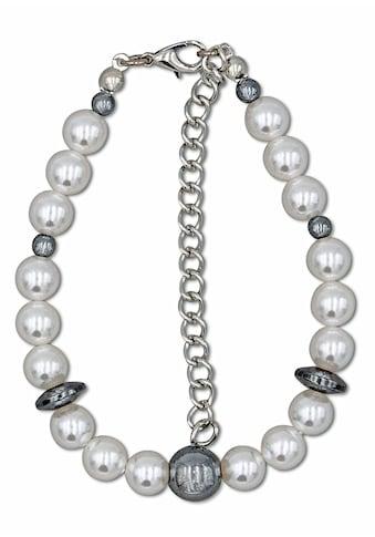 J.Jayz Armband »Perlenarmband in zweifarbiger Optik mit Kugeln und Scheiben« kaufen