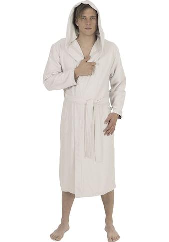 Wewo fashion Unisex-Bademantel »3901«, (1 St., mit Gürtel), mit Soft-Touch kaufen