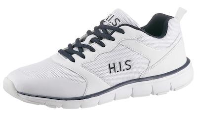 H.I.S Sneaker, mit großem Logoschriftzug kaufen