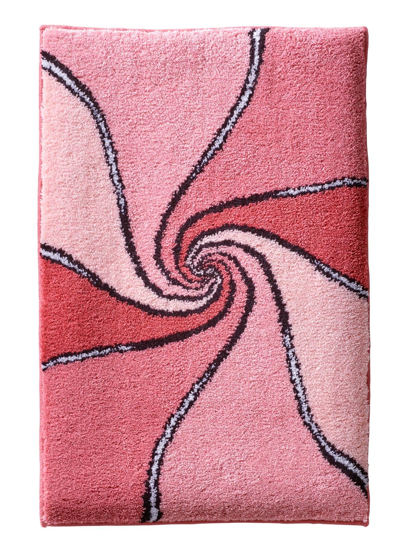 Grund Badematte, Höhe 18 mm rosa Badematten Badematte