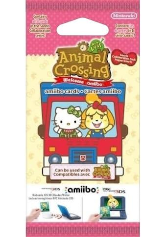 Nintendo Spielfigur »amiibo-Karten 6er Pack - Animal Crossing New Leaf + Sanrio« kaufen