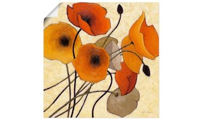 Artland Wandbild »Kürbismohn II«, Blumen, (1 St.), in vielen Größen & Produktarten... kaufen