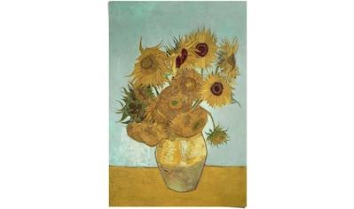 Reinders! Poster »Sonnenblumen Vincent van Gogh - Blüte - Pflanze - Berühmtes... kaufen