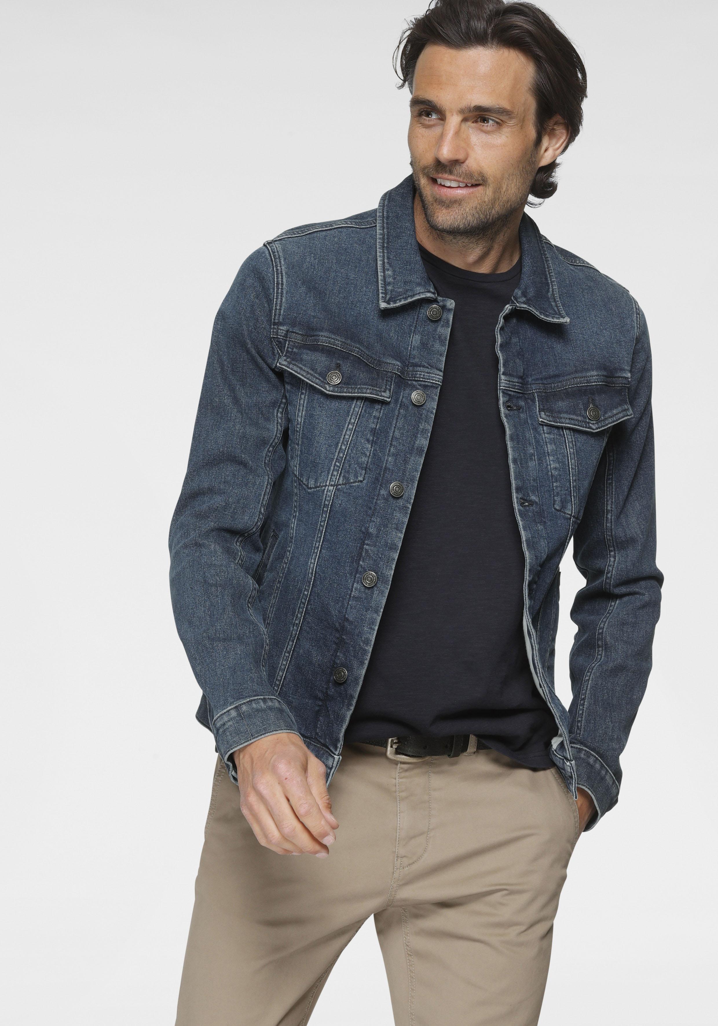 tom tailor -  Jeansjacke, mit Brusttaschen, sowie Eingrifftaschen auf der Frontseite