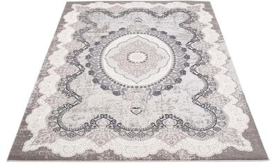 Carpet City Teppich »Platin 7742«, rechteckig, 11 mm Höhe, Wohnzimmer kaufen