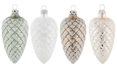 "Thüringer Glasdesign Christbaumschmuck ""Nature"" (4 - teilig) kaufen"