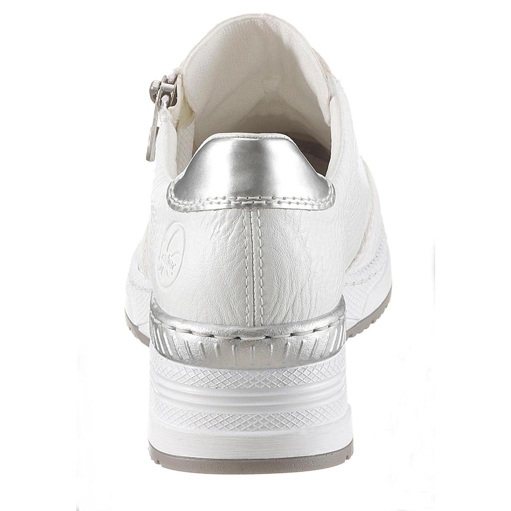 Rieker Keilsneaker, mit herausnehmbarer Leder-Innensohle