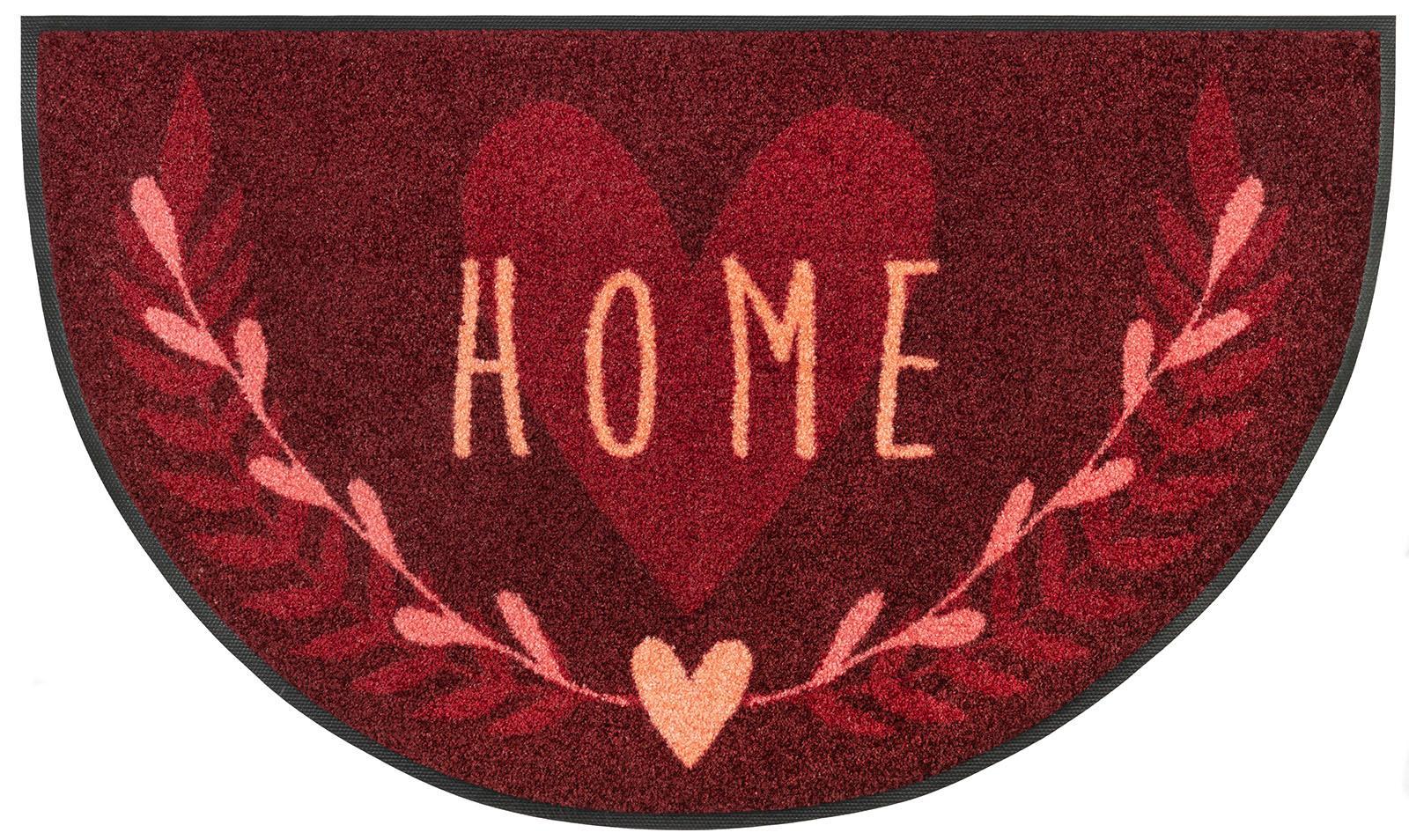 Teppich Round Home wash+dry by Kleen-Tex rechteckig Höhe 7 mm gedruckt