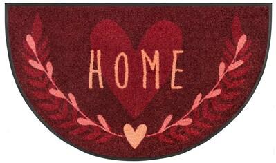 Teppich, »Round Home«, wash+dry by Kleen - Tex, rechteckig, Höhe 7 mm, gedruckt kaufen