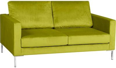 Alte Gerberei 2-Sitzer »Velina«, mit Metall-Winkelfüßen kaufen