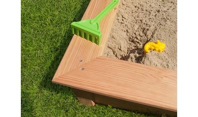 Kiehn - Holz Sandkasten B/T/H: 148/148/26 cm kaufen