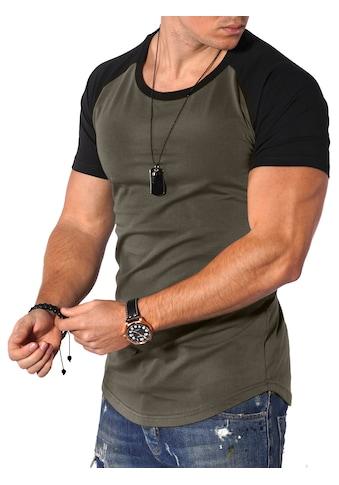 behype T-Shirt »Rio«, mit lässigen Raglanärmel kaufen