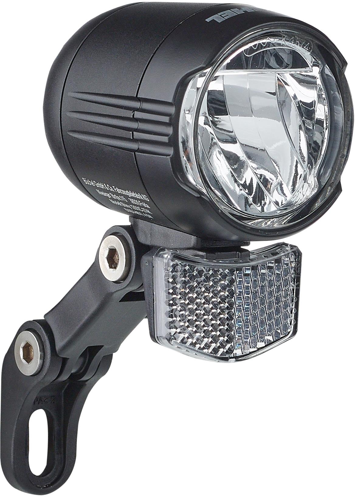 Büchel Fahrrad-Frontlicht Shiny 120 E-Bike schwarz Fahrradzubehör Fahrräder Zubehör