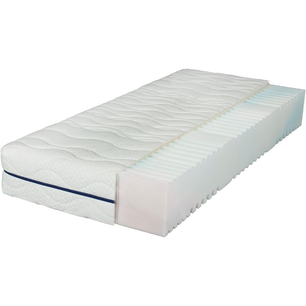 Breckle Komfortschaummatratze »EvoX 27«, 27 cm cm hoch, Raumgewicht: 28 kg/m³, (1 St.), besonders hoch - zertifizierte Markenqualität zum Vorteilspreis