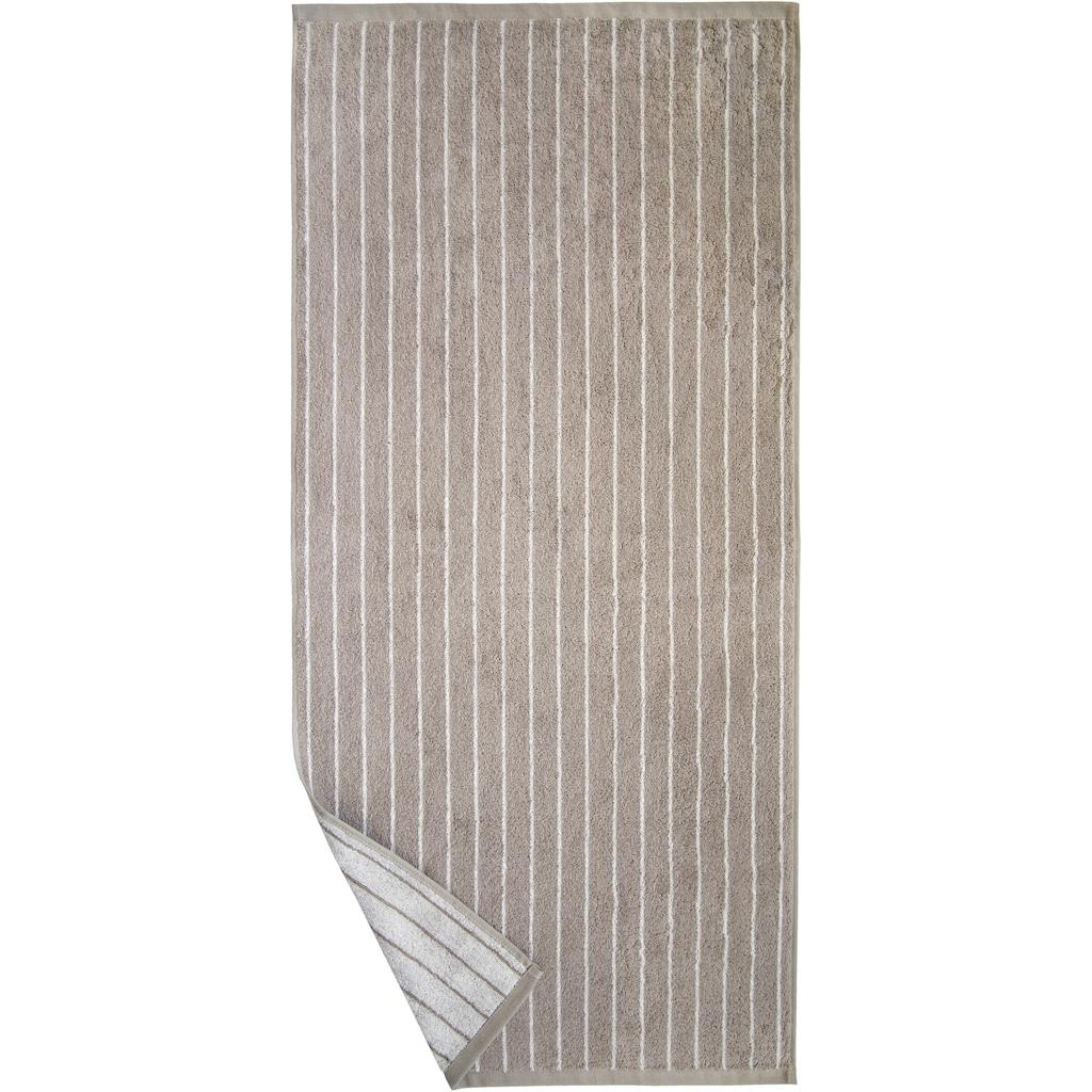 Dyckhoff Duschtuch »Nadelstreifen«, (1 St.), mit eingewebten Nadelstreifen