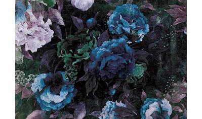 Consalnet Papiertapete »Blauer Blumen Mix«, floral kaufen