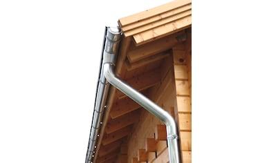 Wolff Dachrinne, Alu, für Satteldach bis 500 cm kaufen