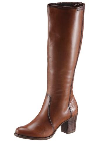 Tamaris Stiefel »Tora«, mit Varioschaft mit regulierbarer Weite von normal bis XL kaufen