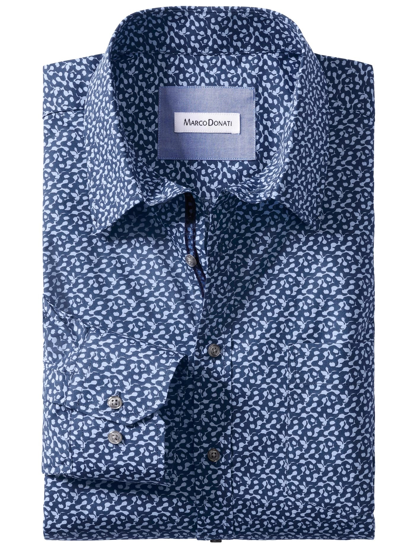 Kontrastkragen Hemd Grau | Hemden | Ted Baker DE