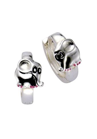 Zeeme Creolen »925/ -  Sterling Silber Elefant« kaufen