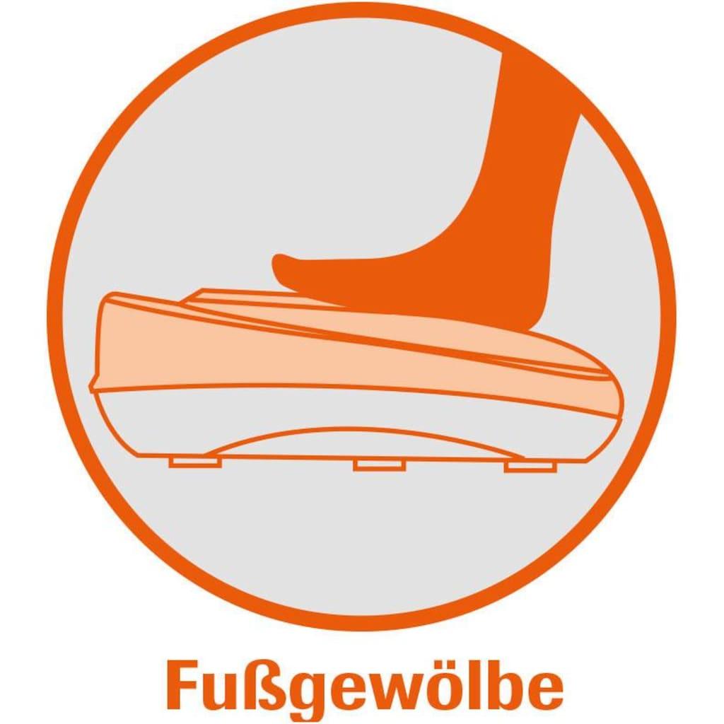 VibroLegs Vibrationsplatte »VibroLegs«, 30 W, 10 Intensitätsstufen, (3 tlg., mit Trainingsplan)