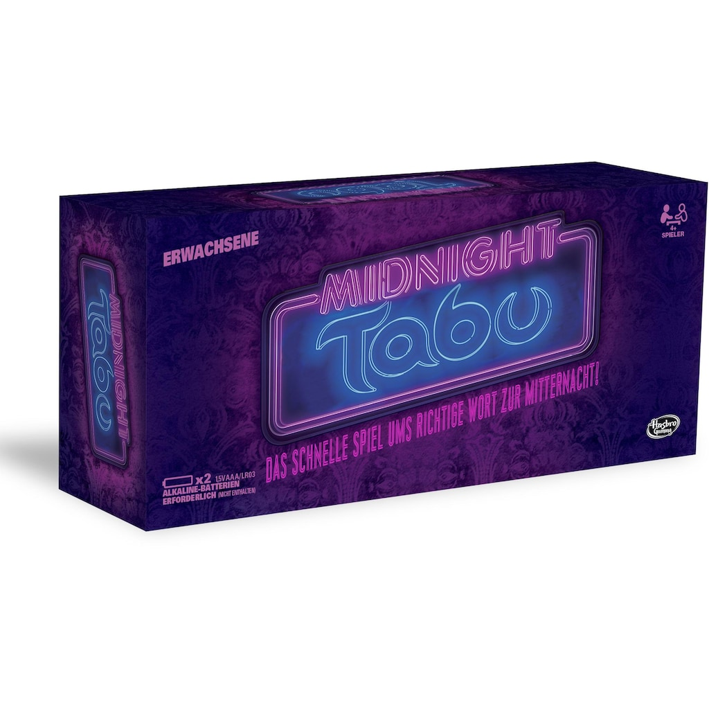 Hasbro Spiel »Tabu Midnight«, Made in Europe