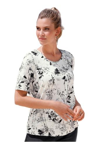 Anna Aura T - Shirt »mit Blumenmuster mit Rispen« kaufen