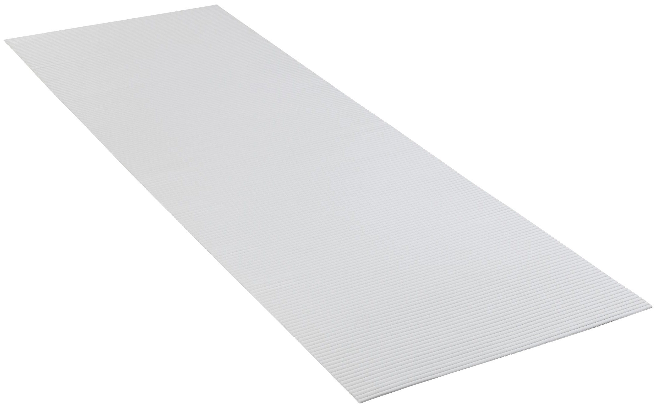 WENKO Badematte, Höhe 50 mm, BxL: 65 x 200 cm weiß Badematte Badematten