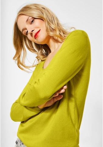 STREET ONE V - Ausschnitt - Pullover kaufen