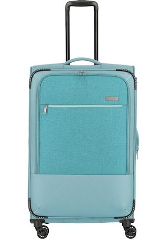 """travelite Weichgepäck - Trolley """"Arona, 77 cm, aqua"""", 4 Rollen kaufen"""