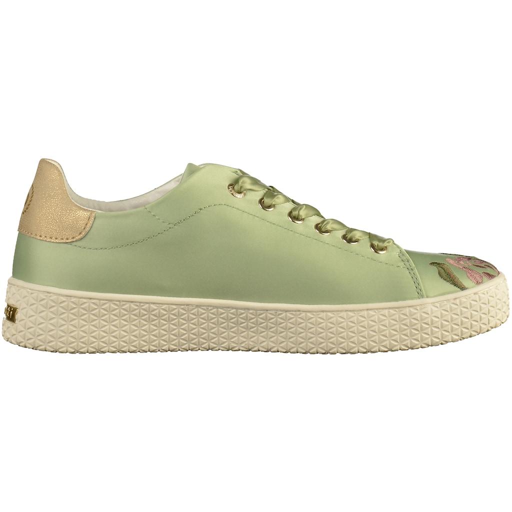 bugatti Sneaker »Lederimitat/Textil«