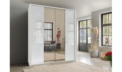 WIEMANN Kleiderschrank »Kansas«, mit Spiegel und Glas kaufen