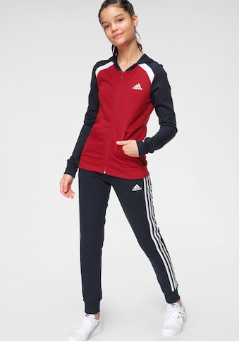 adidas Performance Jogginganzug »GIRLS HOOD COTTON TRACKSUIT« (Set, 2 tlg.) kaufen