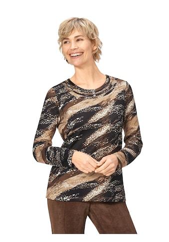 Classic Basics Winter - Shirt mit ausdrucksstarkem Muster kaufen