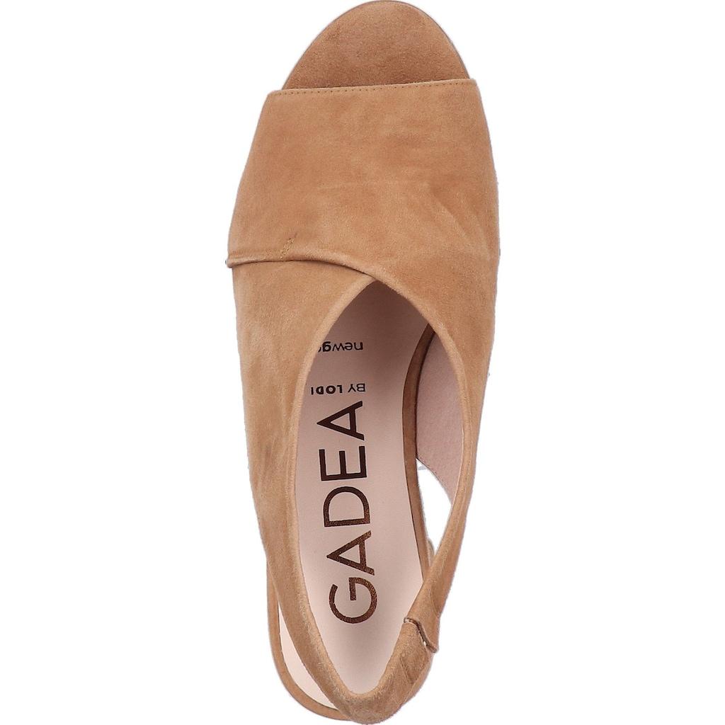 GADEA Peeptoepumps »Leder«