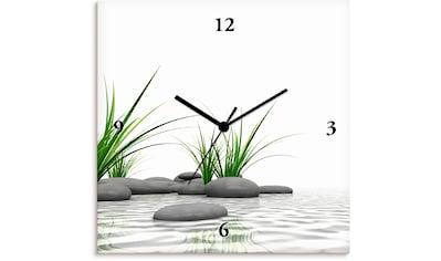 Artland Wanduhr »3 D Steine«, lautlos, ohne Tickgeräusche, nicht tickend, geräuschlos... kaufen