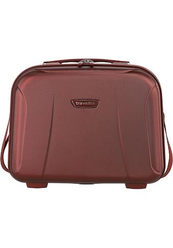 travelite Beautycase »Elbe, rot« kaufen