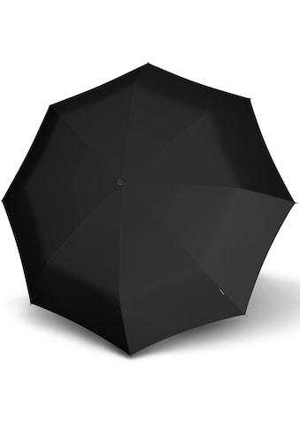 Knirps® Taschenregenschirm »Topmatic SL Crook RHG, black« kaufen