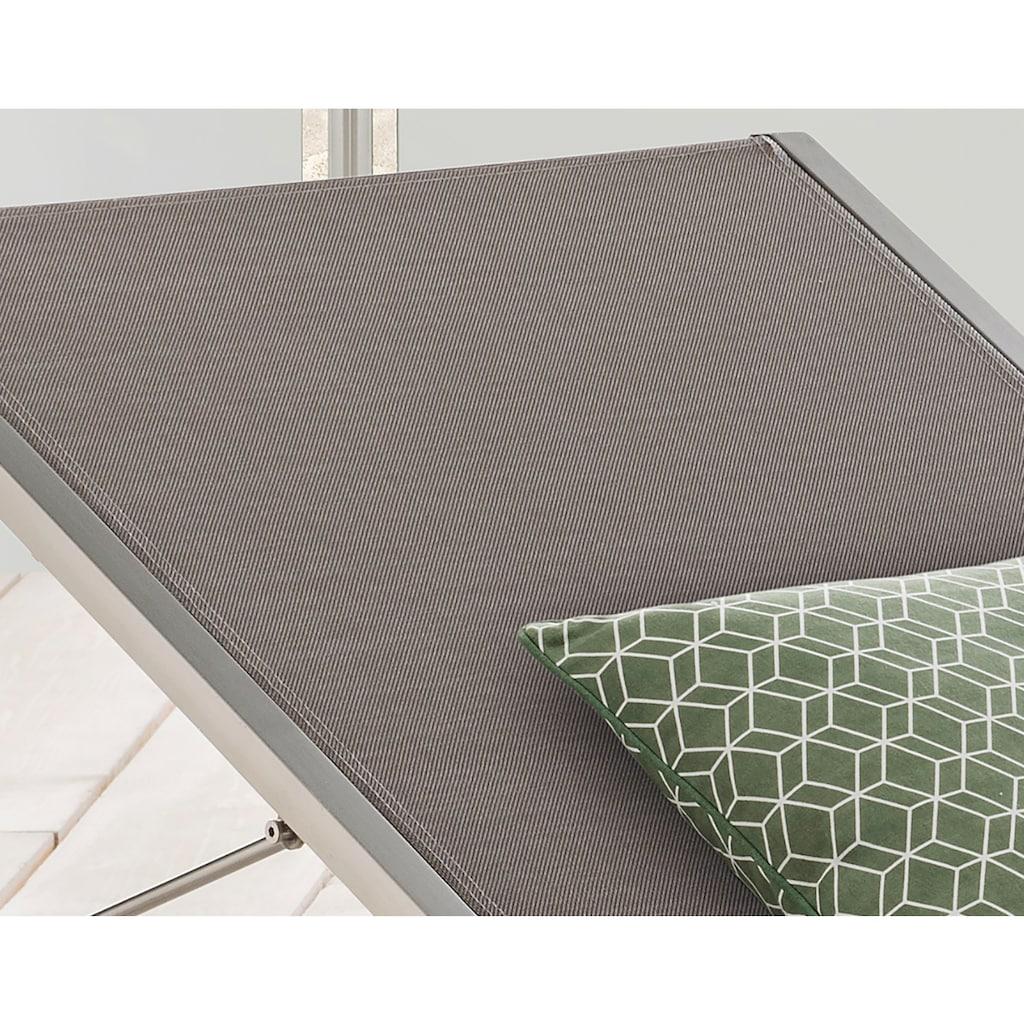 Destiny Gartenliege »Macao«, Alu/Textil, verstellbar
