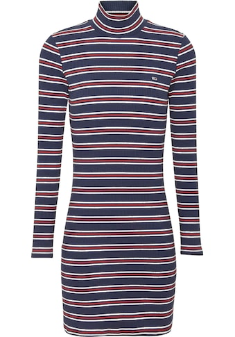 TOMMY JEANS Jerseykleid »TJW RIB STRIPE DRESS« kaufen