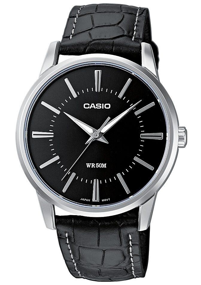 Casio Collection Quarzuhr »MTP-1303PL-1AVEF« | Uhren > Quarzuhren | Schwarz | CASIO COLLECTION