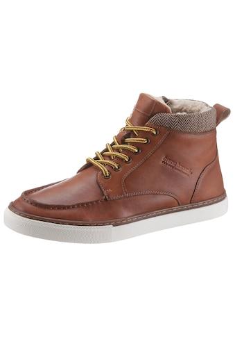 Bruno Banani Sneaker, mit modischer Blattnaht kaufen