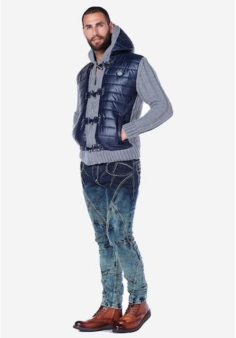 Cipo & Baxx Slim-fit-Jeans, mit einzigartiger Waschung kaufen